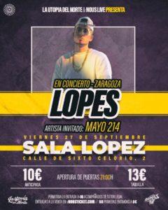 LOPES @ SALA LÓPEZ