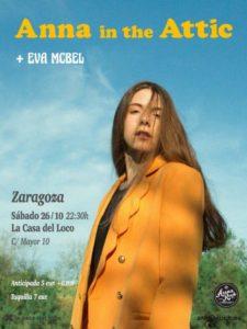ANNA IN THE ATTIC + EVA McBEL @ LA CASA DEL LOCO