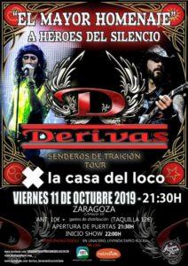 DERIVAS @ LA CASA DEL LOCO
