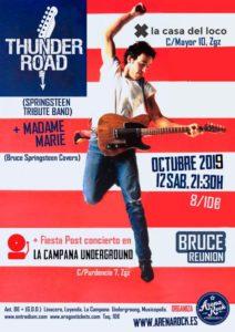 THUNDER ROAD + MADAME MARIE @ LA CASA DEL LOCO