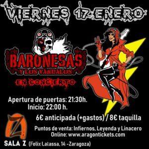 Baronesas y Los Vándalos