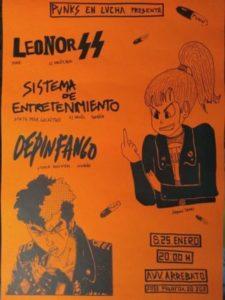 Leonor SS + Sistema de Entretenimiento + Depinfango