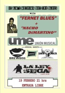 Fernet Blues + Nacho Dimartino