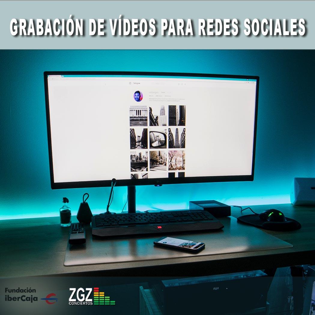 Grabación De Vídeos Para Redes Sociales