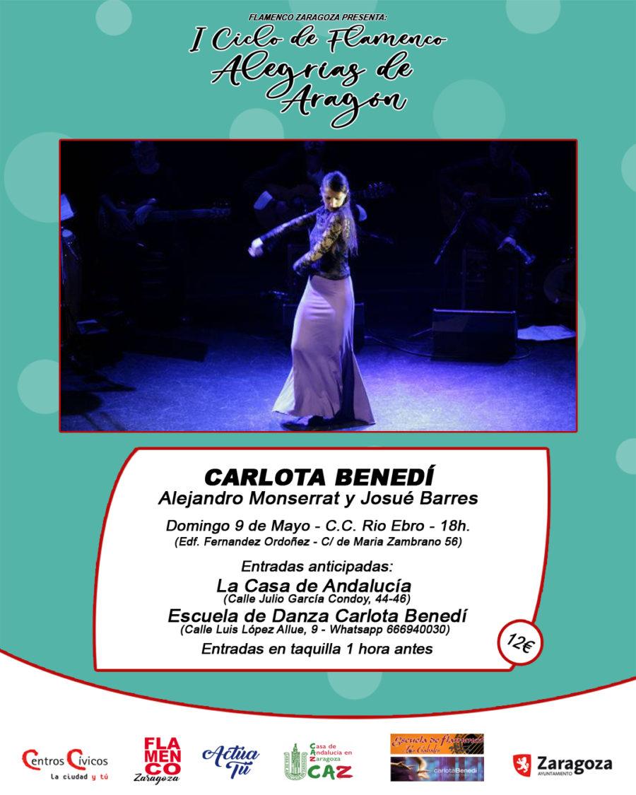 Carlota Benedi en Zaragoza